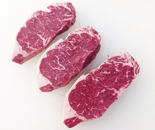5 lbs Box NY Striploin Steak