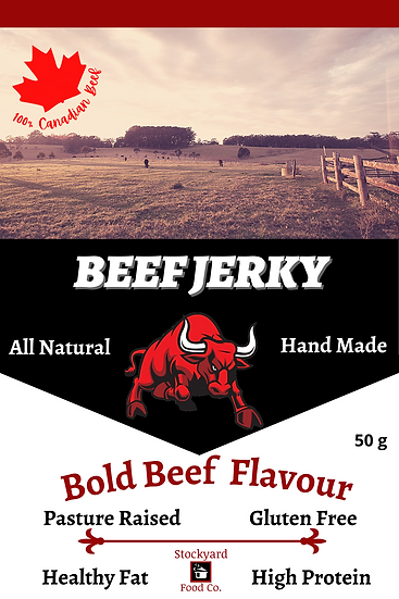 Beef Jerky - Bold Beef Flavour