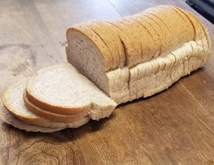 Sliced Whole Wheat Bread Loaf