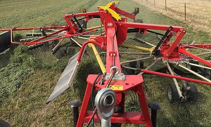 custom rotary raking