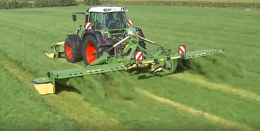 custom hay mowing conditioning