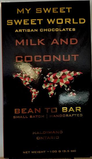 Milk & Coconut Chocolate