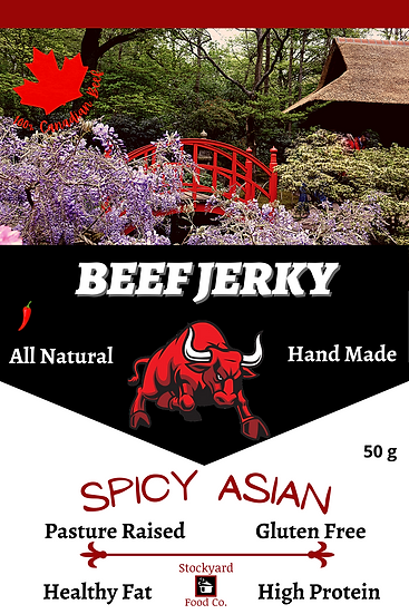 Beef Jerky - Spicy Asian Flavour