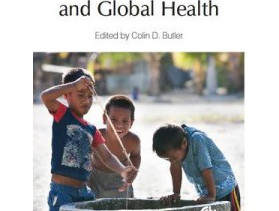 "BOB DOUGLAS PRESENTS AT THE LAUNCH OF THE NEW BOOK ""CLIMATE CHANGE AND GLOBAL HEALTH"", EDITED BY COL"
