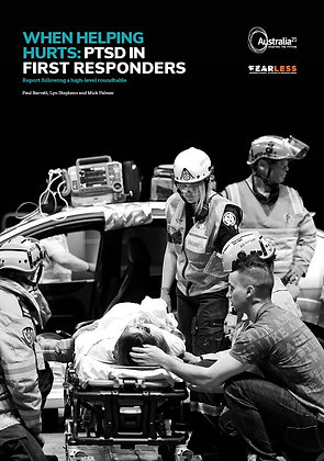 WHEN HELPING HURTS: PTSD IN FIRST RESPONDERS