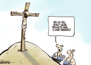 AND JESUS SAID EXAMINE YOUR PUBLIC POLICY