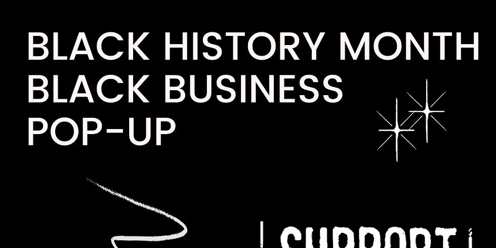 BHM Black Business Pop-Up