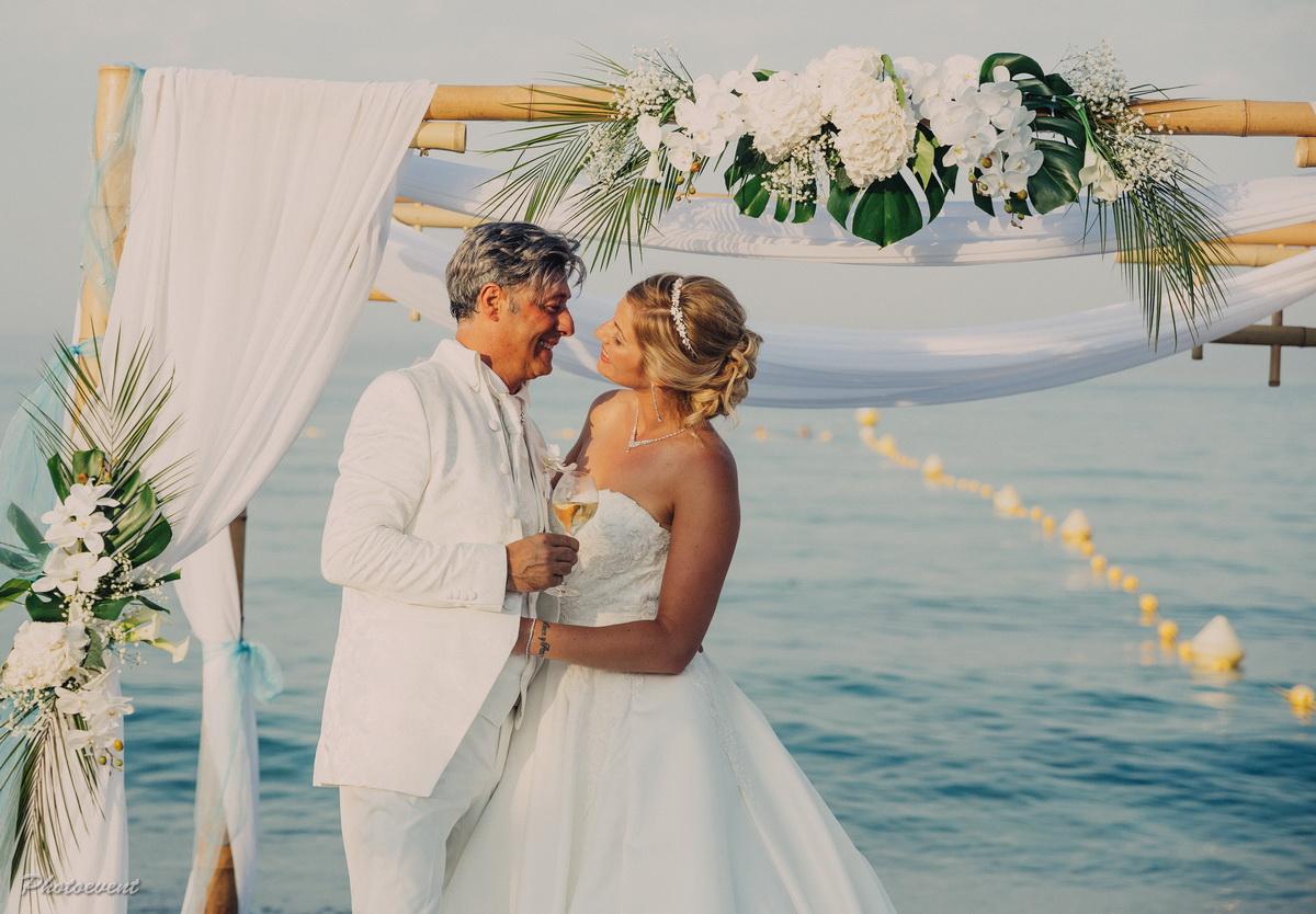 mariage a saint tropez