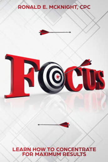 E-Book:  Focus Learn How to Concentrate For Maximum Results