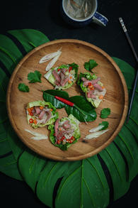 Thai beef cups
