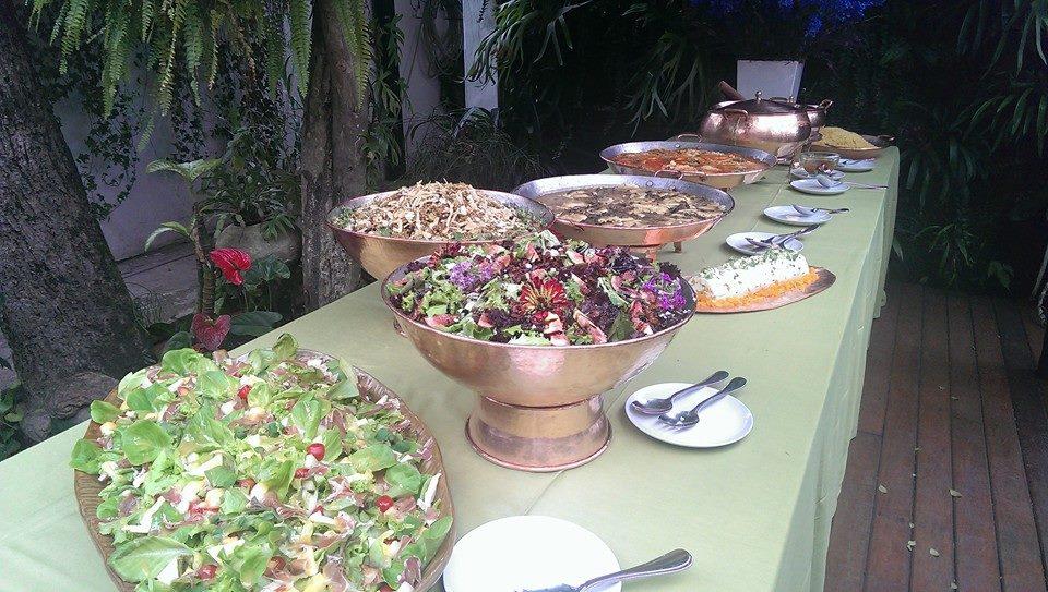 buffet montado