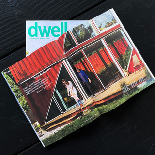 DWELL front page
