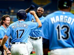 Las señales que emitió el primer Grand Slam de Randy Arozarena en MLB