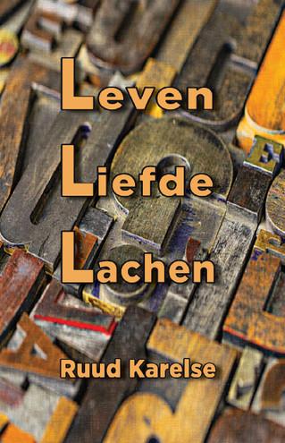 Nieuw coverontwerp voor gedichtenbundel Leven Liefde Lachen