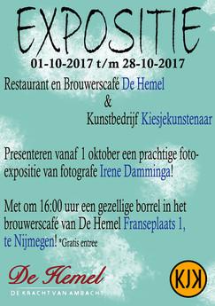 Expositie bij de Hemel in Nijmegen