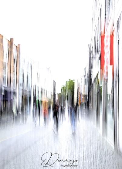 Nieuwe uitdaging: ICM fotografie in de stad