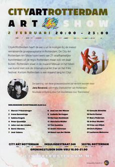 Expositie City Art Rotterdam feb. 2017
