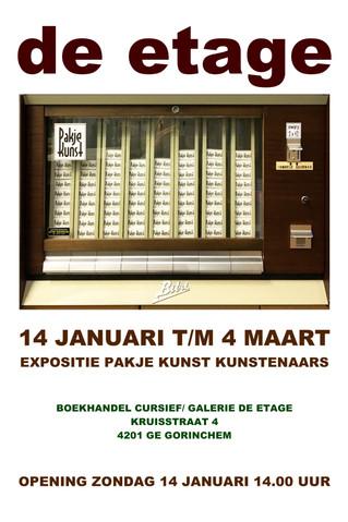 Expositie Pakje Kunst kunstenaars
