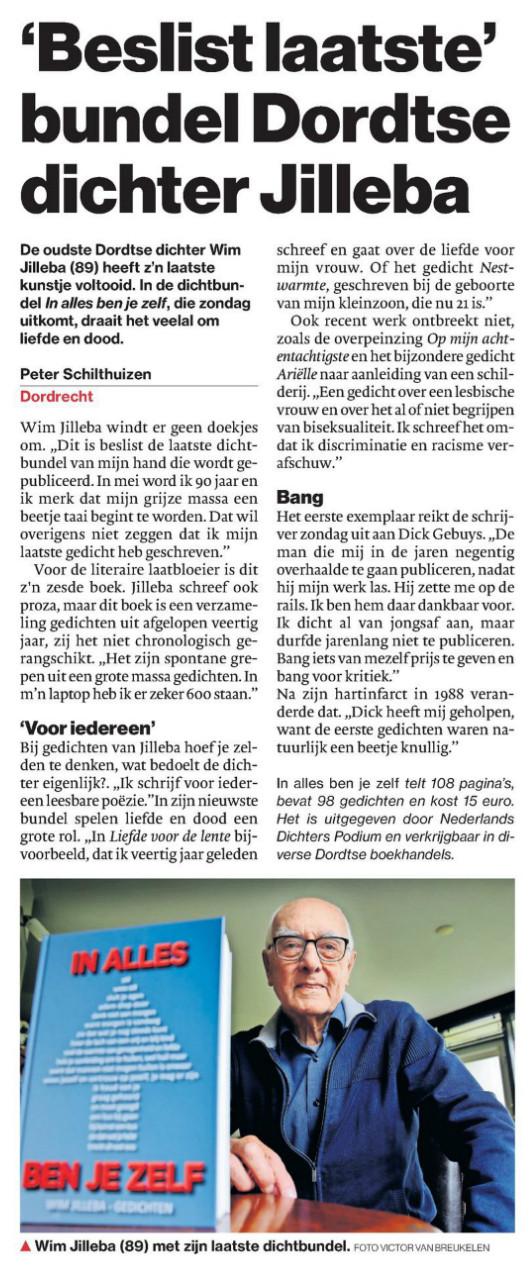 Krantenartikel AD Rivierenland 6-11-2017