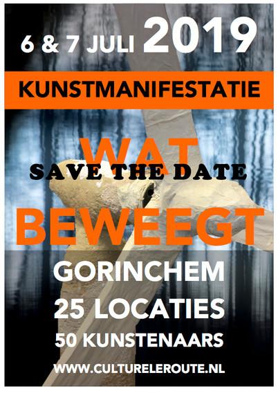 "Safe the Date: Kunstmanifestatie ""Wat beweegt"" Gorinchem op 6 en 7 juli"