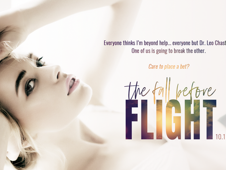 THE FALL BEFORE FLIGHT is coming October 11th!
