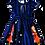 Thumbnail: Vestido de cintura estampa Circo