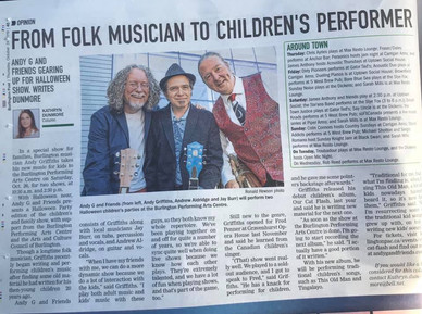 The Burlington Post - Thanks Katheryn Dunmore ... for this nice article.
