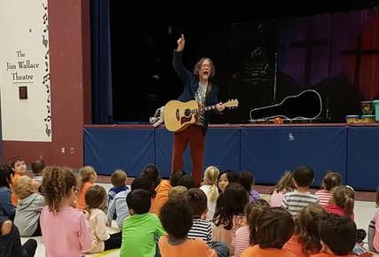 St. Luke's Elementary School - JK classes show