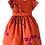 Thumbnail: Vestido de cintura estampa cereja