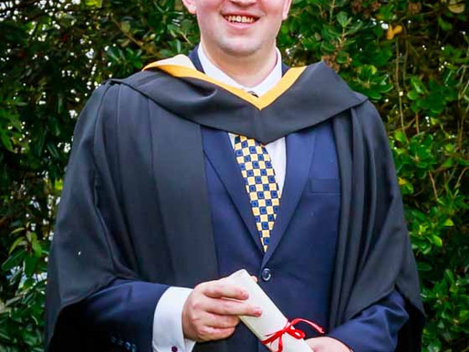 Congratulations to Kevin Dwyer, who graduated from University of Limerick with a Business Degree.