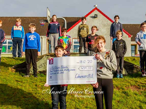 Cahermore School Raise Funds for Co Action