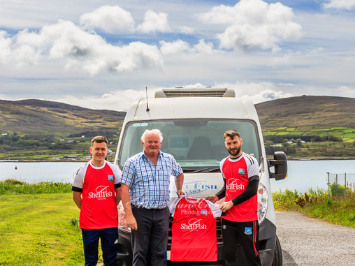Beara United FC would like to Thank Shellfish Ireland for sponsoring jerseys for the Senior Soccer..