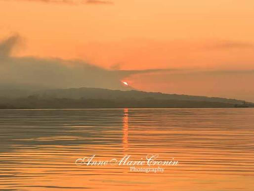 A sunrise kayak and swim this morning at Sandmount, Castletownbere, Beara, West Cork