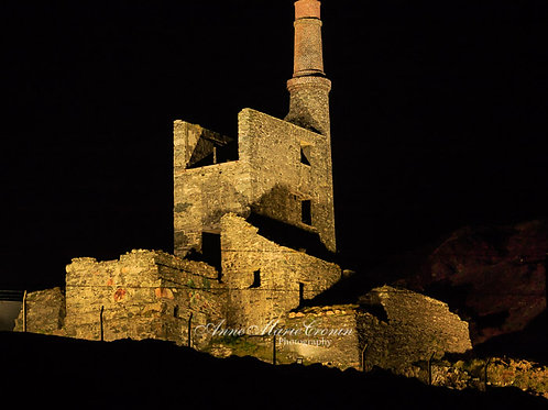 Allihies North Engine by night