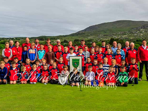 All Ireland Winners visit the underage at Berehaven Golf Club