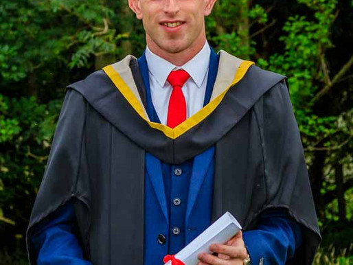 Congratulations Patrick Daly who graduated yesterday