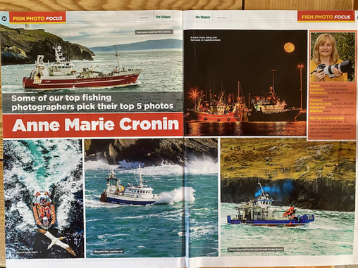 Delighted to be featured in the May publication of The Skipper