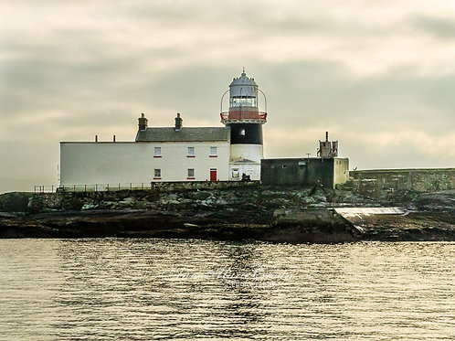 Roncarrig Lighthouse in Berehaven Harbour