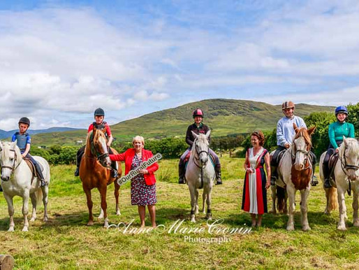 The Official Opening of the BEARA BRIDLE WAY took place yesterday by Minister Heather Humphreys