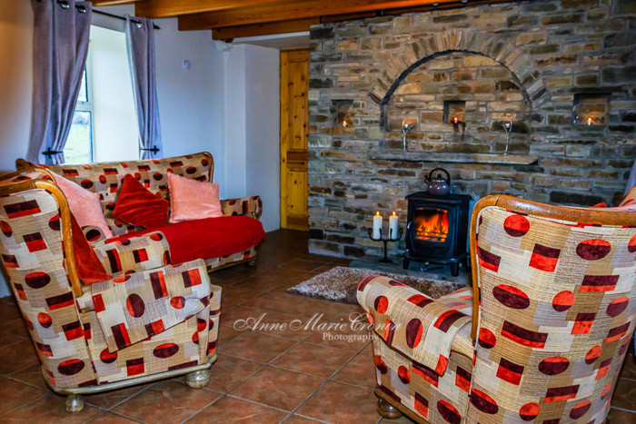 Pulleen Cottage a  beautiful rustic country cottage, located 5 km from the town of Castletownbere.