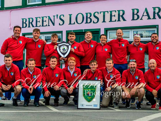 Congratulations to the victorious Berehaven Golf Club Team who won the All Ireland.