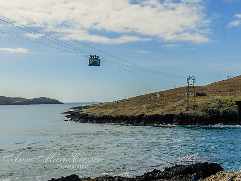 The Cable Car at Dursey. Irelands only cable Car