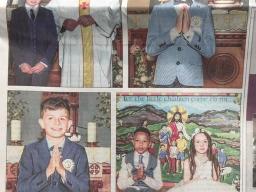 Congratulations to the Adrigole 1st Communion