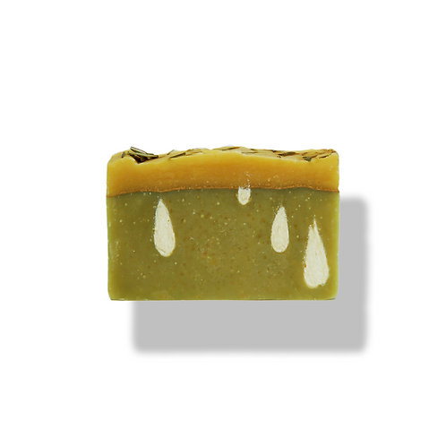 Lemongrass and Sage Goat's Milk Soap