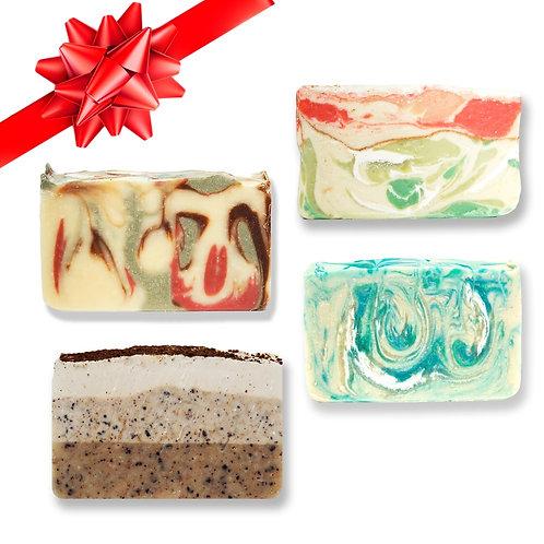 Holiday Soap Bundle | Buy 3 Get 1 Free