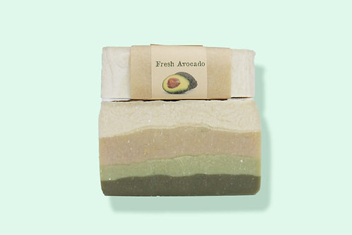 Fresh Avocado Goat's Milk Soap