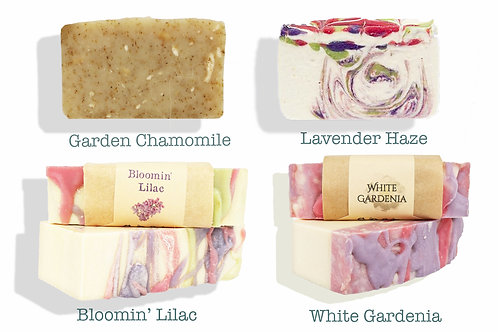 Floral Fresh Soap Bundle | Buy 3 Get 1 Free