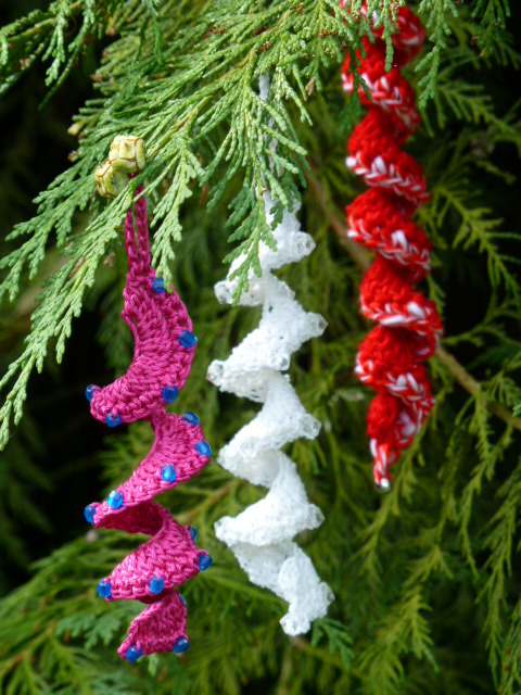 Christmas Spiral Decoration