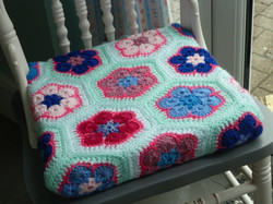 Moonflower Seat Pad