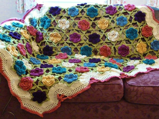 Flowers Galore Throw